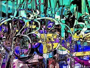Graffiti aan de haven - motief 4