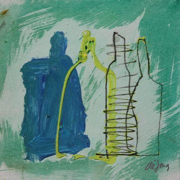 Flessen (3) von Leo de Jong