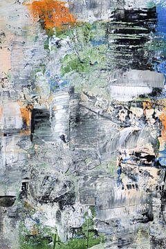 Abstrakte Malerei von Carla Van Iersel