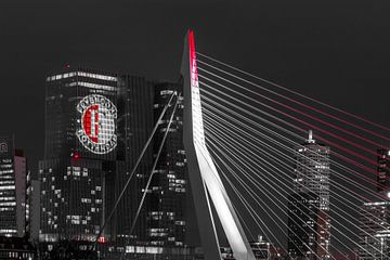 Feyenoord über 'De Rotterdam' von Midi010 Fotografie