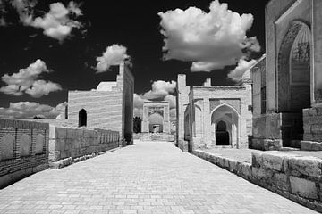 Metropole Chor-Bakr in Buchara Usbekistan von Yvonne Smits