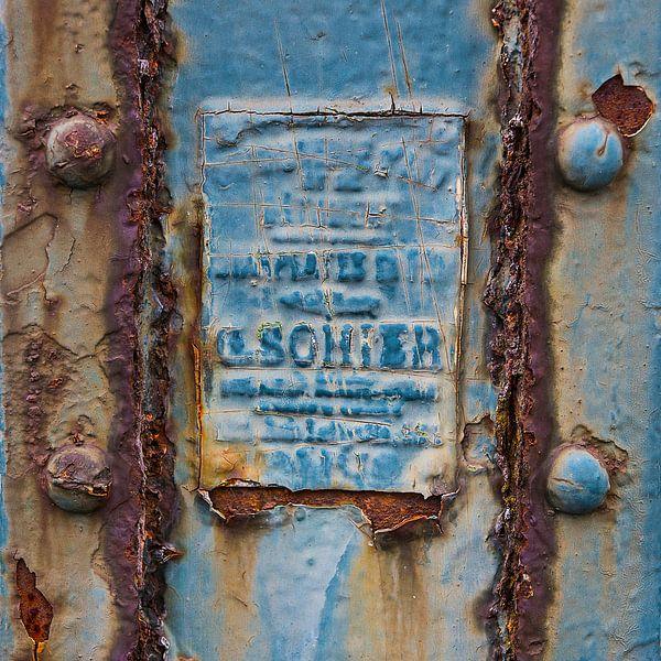 alter Zaun mit Platte von Arend van der Salm