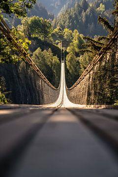Hängebrücke in der Schweiz von Achim Thomae