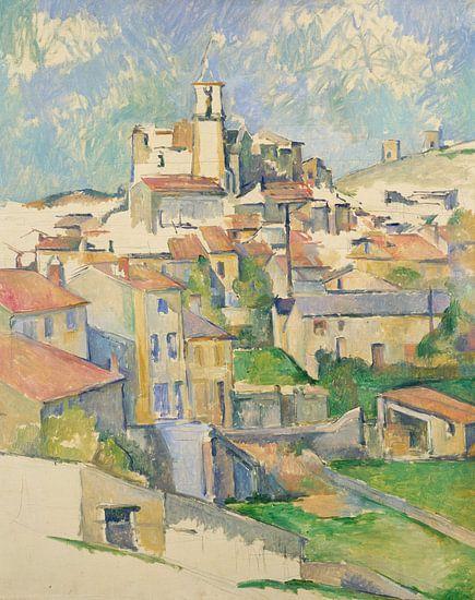 Paul Cézanne. Gardanne van 1000 Schilderijen