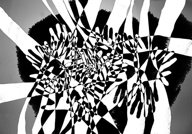 Lekker bezig 17 100x70 van Marc Otte