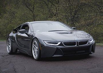 BMW i8 sur Natasja Tollenaar