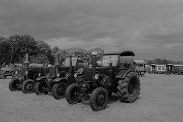 oude tijden herleven - landbouw tractors von Angelique Nijssen