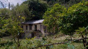 verlassene Farm auf Lefkas