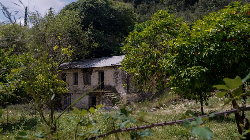 verlassene Farm auf Lefkas von ticus media