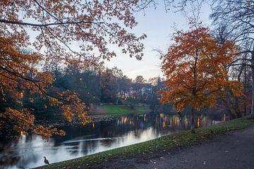 Herbst  in den Bremer Wallanlagen, Deutschland, Europa