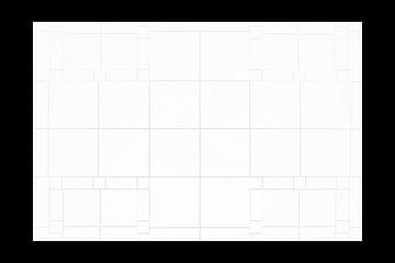 Tegel symmetrie in stijl van Escher van Arnout Bos