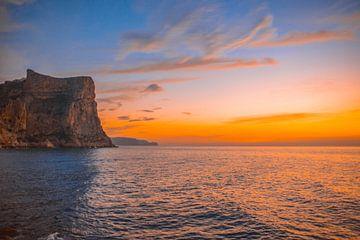 Zonsopgang aan de Spaanse kust von Sanne Lillian van Gastel