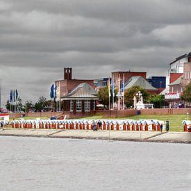 Wilhelmshaven South Beach van Rolf Pötsch