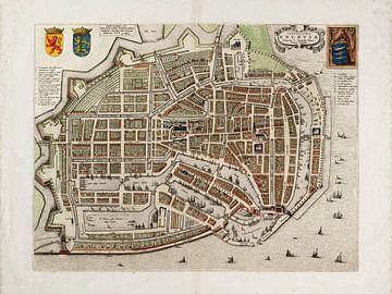 Grundriss Enkhuizen - 1649
