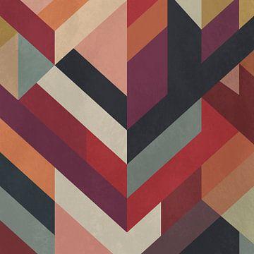 Abstracte compositie 1200 van Angel Estevez