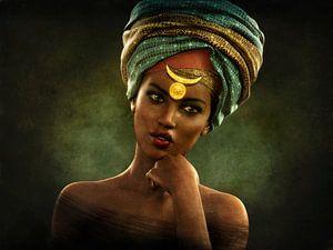 Vintage afrikanischen Porträt