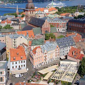 Riga im Herzen des Baltikums von Gisela Scheffbuch
