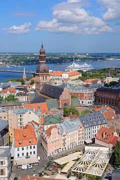Riga au cœur des Etats baltes sur Gisela Scheffbuch