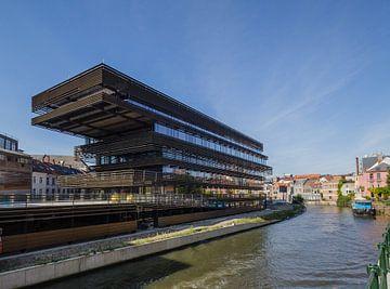De Krook, moderne architectuur in Gent, België van