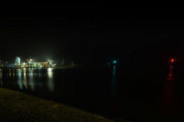 Port de Lauwersoog sur Andrea de Vries