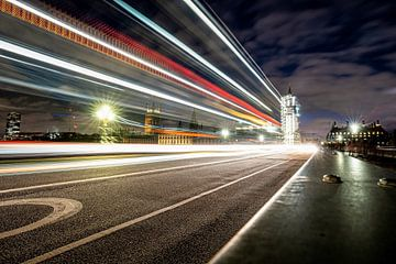 Westminster bei Nacht von Jessica de Vries