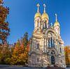 Russisch-Orthodoxe Kirche auf dem Neroberg van Christian Müringer thumbnail