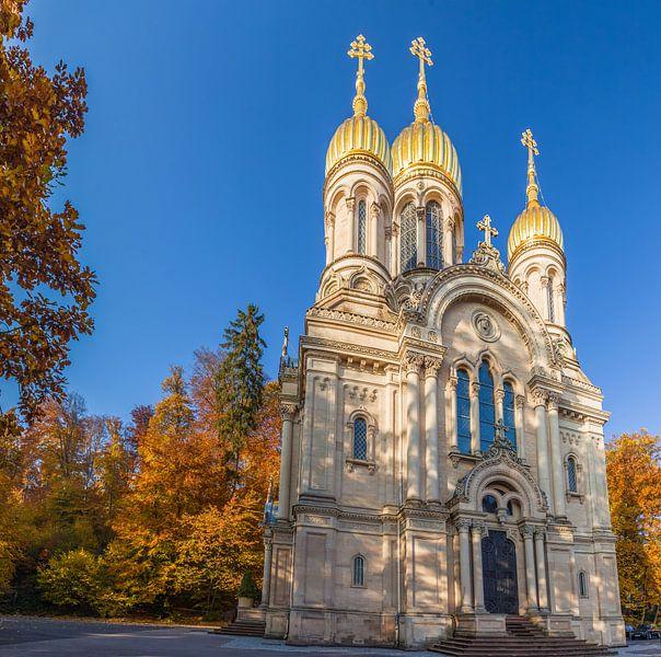 Russisch-Orthodoxe Kirche auf dem Neroberg van Christian Müringer
