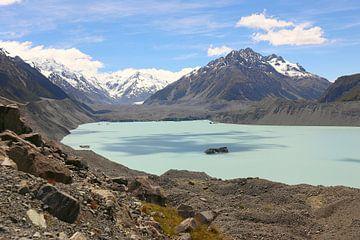 Hooker Lake / Nieuw-Zeeland van