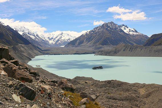 Hooker Lake / Nieuw-Zeeland