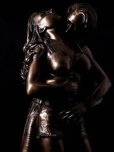 Uit brons gegoten