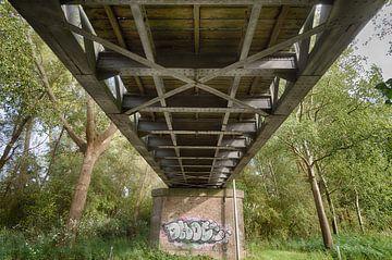 Halbsohlen Eisenbahnbrücke Drunen von