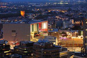 Centrum van Utrecht met  muziekgebouw TivoliVredenburg