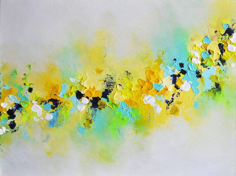 Yellow Flowers van Maria Kitano