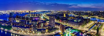 Panorama Rotterdam von Evert Buitendijk