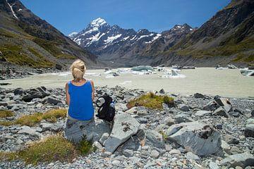 Hooker Valley Track, Mt Cook, Nieuw Zeeland sur Willem Vernes