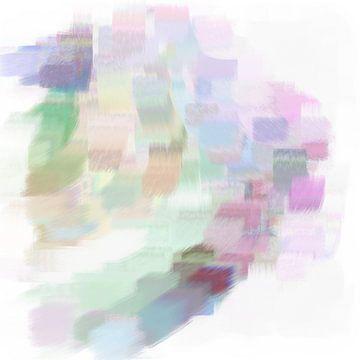 Abstrakte Pinselstriche I von Maurice Dawson
