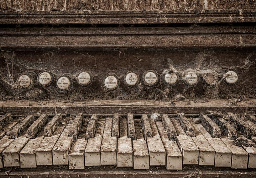 Nostalgisch orgel van Marcel van Balken