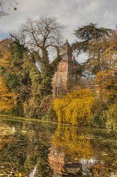 Kasteel Borgharen tijdens de Herfst van John Kreukniet