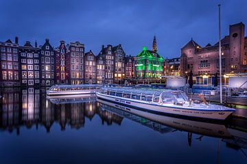 Amsterdam - Damrak van Jens Korte