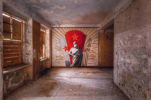 Muurschildering van Roman Robroek