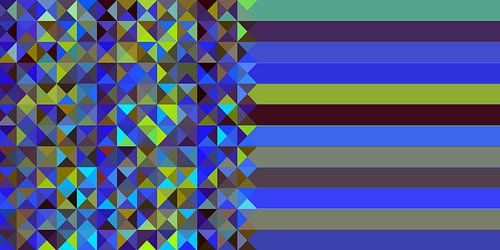 Dreieck-Muster