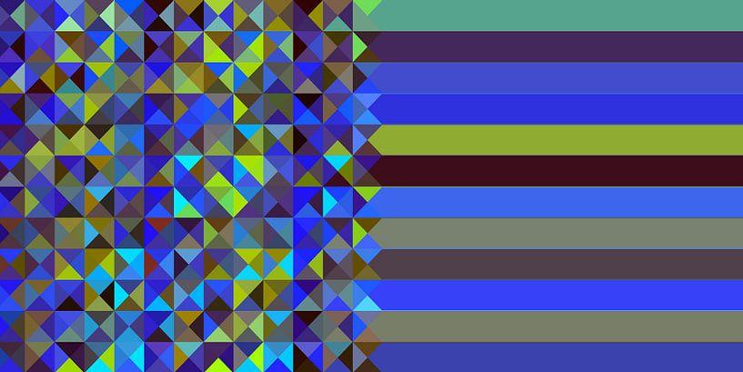 Dreieck Muster 02 von Marion Tenbergen