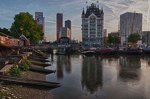 Oude Haven in Rotterdam met het Witte Huis