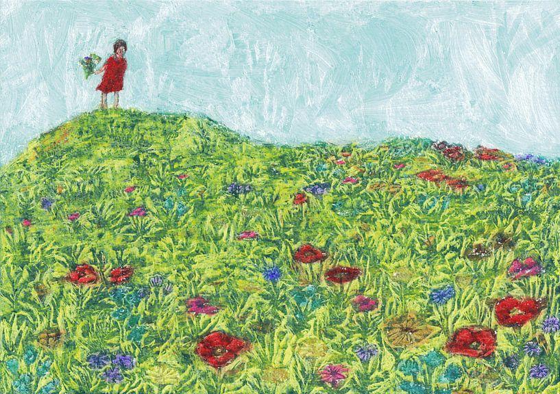Blumenwiese von Lise Goossens