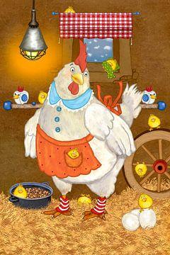 Mijn grappige kip Emma van Marion Krätschmer