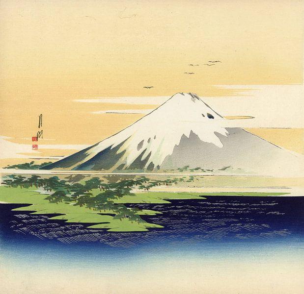 Fuji, Ogata Gekkô sur 1000 Schilderijen