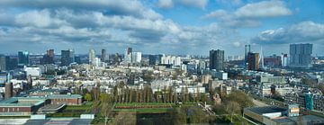 Panorama van Rotterdam van Michael Echteld