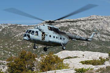 Kroatische Luftwaffe Mi-8 Hip von Dirk Jan de Ridder