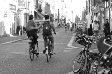 Fahrrad Amsterdam von Marianna Pobedimova