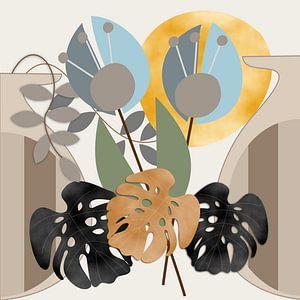 Moderne botanische Phantasie von Thea Walstra